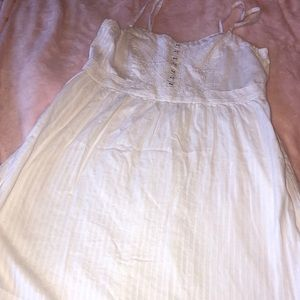 American Eagle Outfitters white sundress